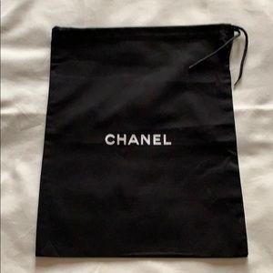 Chanel drawstring dust bag